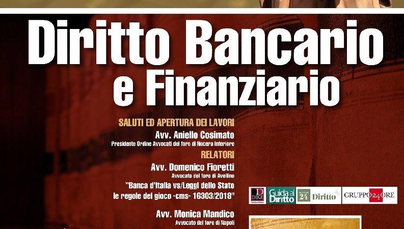 Convegno di diritto bancario e finanziario